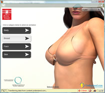 more information about plastic surgery interactive animation